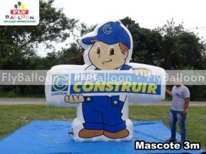 mascotes inflaveis promocionais