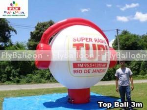 top ball inflavel promocional super radio tupi no Rio de janeiro - RJ