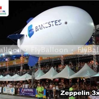zeppelin inflavel aereo banestes em Vitoria - ES