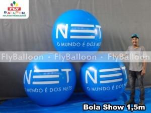 bolas inflaveis promocionais NET