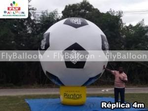 bola de futebol inflavel promocional shopping piratas em Angra dos Reis - RJ