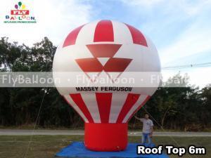 balao inflavel promocional roof top massey ferguson