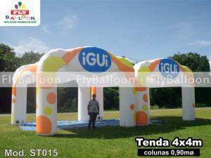 tendas inflaveis promocionais igui piscinas em Cedral - SP