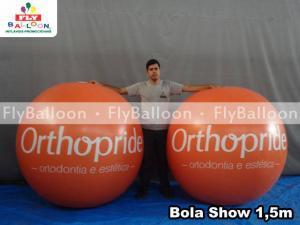 bolas inflaveis promocionais orthopride em Volta redonda - RJ