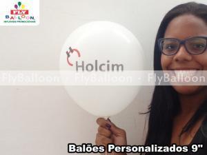 baloes personalizados cimento holcim em Sao Paulo - SP