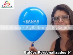 baloes personalizados sanar farmacias em Porto Alegre - RS