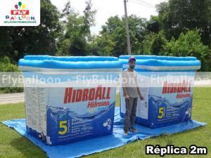 replicas inflaveis promocionais desinfetante para piscinas hidroall em valinhos - SP