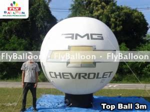 top ball inflavel promocional amg chevrolet em Videira - SC