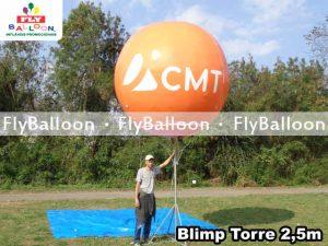 balao blimp inflavel CMT