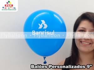 baloes personalizados banrisul em Porto Alegre - RS