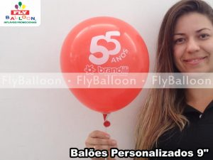 baloes personalizados brandili 50 anos