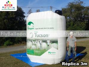replica gigante inflavel promocional herbicida nufarm tucson em Sao Paulo - SP