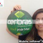 mobile inflavel promocional cerbras ceramicas do brasil