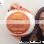mobile inflavel promocional distribuidor padrao A toyota