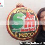 mobile inflavel promocional supermarket aniversario