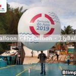 Balao Blimp Aereo Promocional portuario do ano 2019