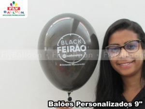 baloes personalizados black feirao webmotors