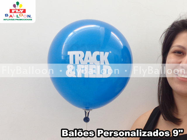 baloes personalizados track & field