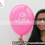 baloes personalizados vizia optica