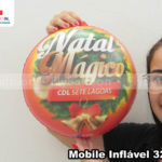 mobile inflavel promocional natal magico CDL sete lagoas