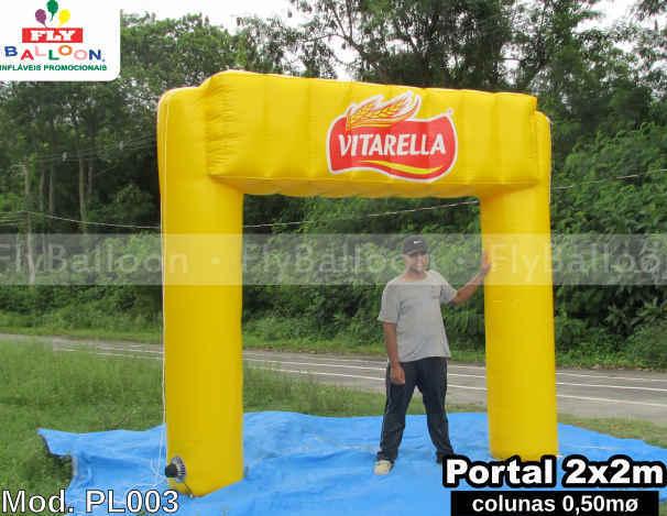 portico inflavel promocional vitarella