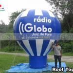 balao inflavel promocional radio globo juiz de fora