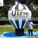 balao inflavel promocional roof top UTFPR medianeira