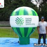 balao inflavel promocional roof top senar mg