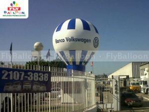 balao promocional banco volkswagen