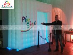 cabine foto inflavel promocional ploc show