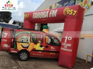 portal inflavel promocional radio taroba fm