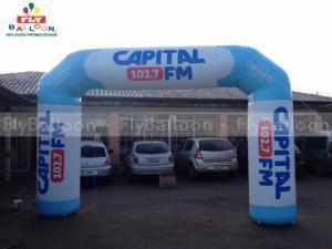 portico inflavel radio capital fm