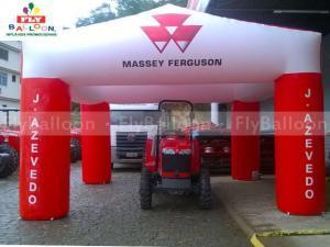 tenda inflavel massey ferguson