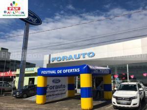 tenda inflavel promocional forauto ford