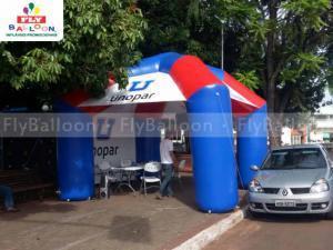 tenda inflavel promocional unopar