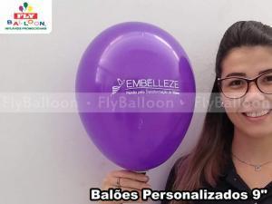 Balões personalizados em Araraquara