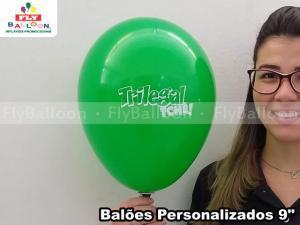 Balão personalizado em Arapiraca