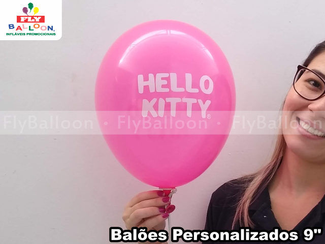 bexigas personalizadas hello kitty