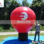 balao inflavel promocional banco fiat
