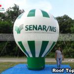 balao promocional inflavel roof top SENAR MS