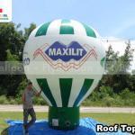 balao promocional inflavel roof top maxilit