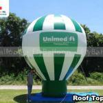 balao promocional inflavel roof top unimed pelotas rs