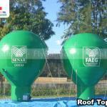 baloes inflaveis promocionais SENAR GOIAS