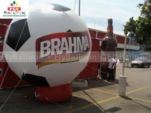 balões infláveis promocionais brahma