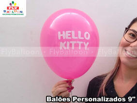baloes personalizados hello kitty