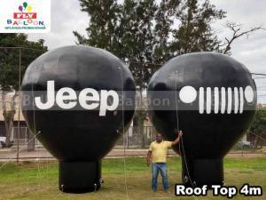 baloes promocionais inflaveis JEEP