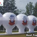 baloes promocionais roof top feirao de fabrica volkswagen