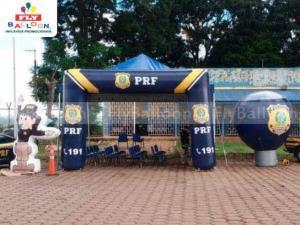 infláveis promocionais PRF