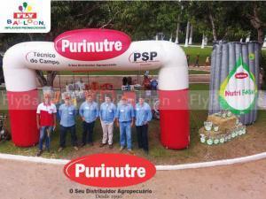 infláveis promocionais purinutre