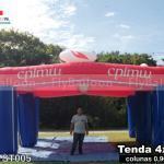 tenda inflável promocional centro de publicações igreja metodista wesleyana